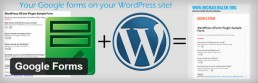 WordPress|Google Formのプラグイン