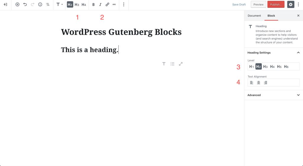 wordpress-gutenberg-blocks-heading|ワードプレスグーテンベルグ 見出しブロック